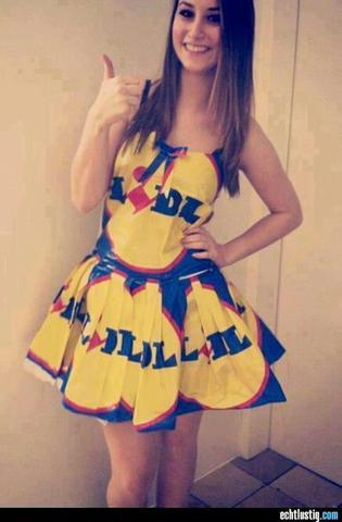 Halloween kostume lidl 2013