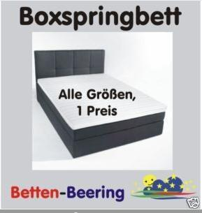was ist der unterschied zwischen normalen betten und boxspringbetten bett boxspringbett. Black Bedroom Furniture Sets. Home Design Ideas