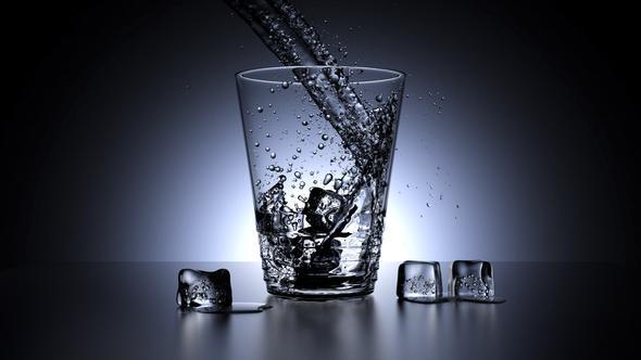 Blender guru water glass