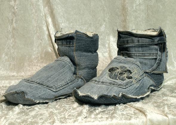 was aus alter jeans machen basteln n hen diy. Black Bedroom Furniture Sets. Home Design Ideas
