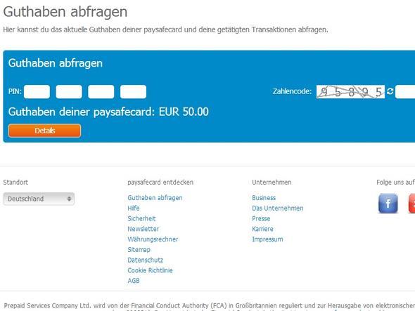 paysafecard guthaben online kaufen