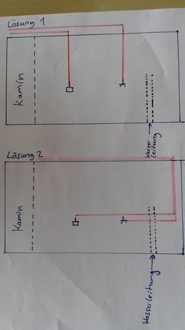 kann ich einen schlitz anbringen dort wo die wasserleitung. Black Bedroom Furniture Sets. Home Design Ideas