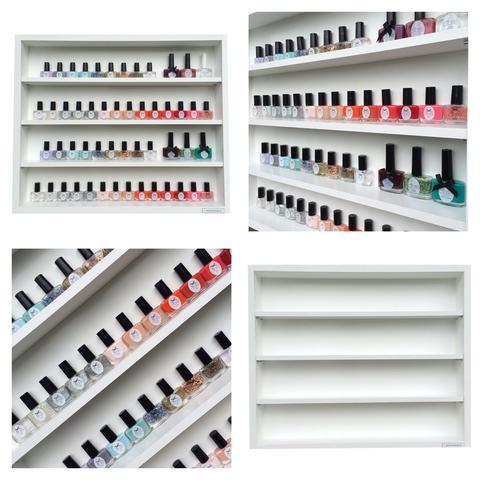 nagellackregal g nstig kaufen nagellack deko. Black Bedroom Furniture Sets. Home Design Ideas