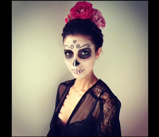 als was k nnte ich mich an halloween schminken halloween make up schminke. Black Bedroom Furniture Sets. Home Design Ideas