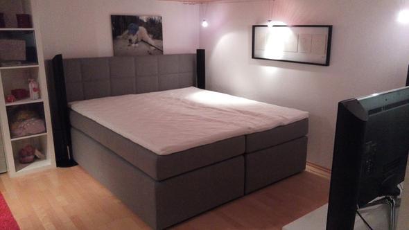 boxspringbett erfahrungen und tipps gesucht wohnung boxspring bett. Black Bedroom Furniture Sets. Home Design Ideas