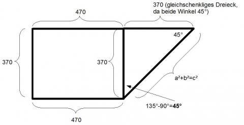 mathematik frage seitenl ngen von sonderform berechnen im www leider keine hilfe m glich. Black Bedroom Furniture Sets. Home Design Ideas