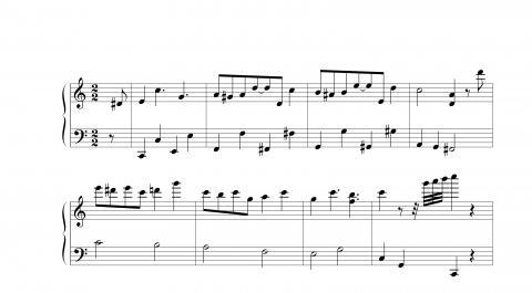 Und jerry vielen dank für die blumen hat jemand die klaviernoten