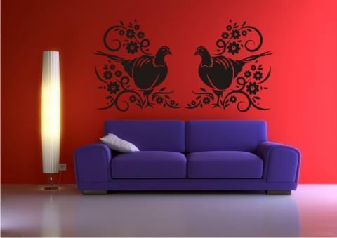 wo gibt es g nstige wandtattoos deko wandtattoo wohnen. Black Bedroom Furniture Sets. Home Design Ideas