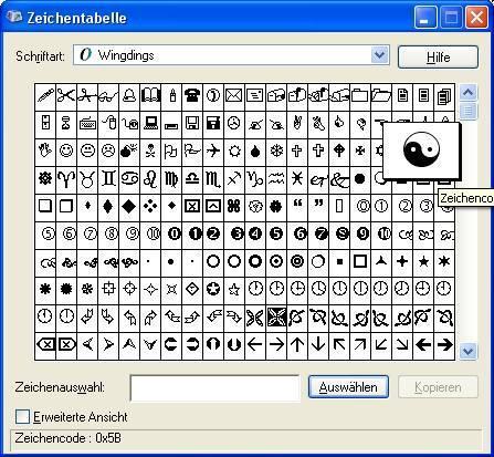 herz computerzeichen