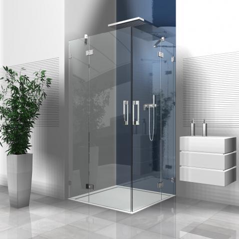 Glasdusche welchen sichtschutz wohnung haushalt for Komplette badezimmer angebote