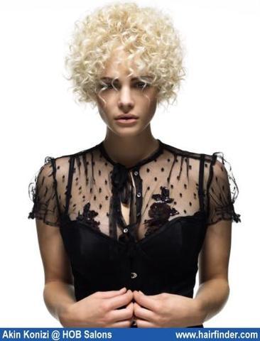 Frisuren dauerwelle kurz