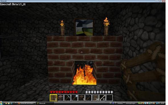 minecraft einrichten im haus spiele ideen freizeit. Black Bedroom Furniture Sets. Home Design Ideas