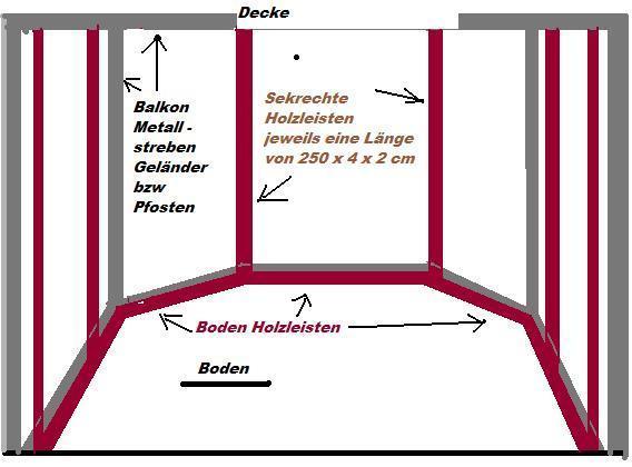 hilfe wie kann ich mein katzennetz ohne bohren befestigen. Black Bedroom Furniture Sets. Home Design Ideas