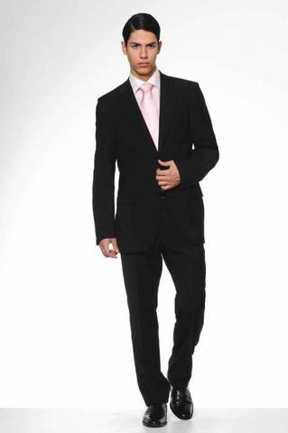 schwarzer anzug mit hellrosanem hemd zum vorstellungsgespr ch siehe. Black Bedroom Furniture Sets. Home Design Ideas