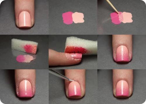 Nageldesign n gel nagellack - Nageldesign zum selber machen mit nagellack anleitung ...