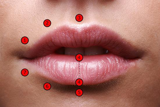 Герпес на губах проколола
