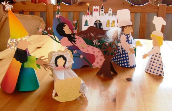 bastelideen von m rchenfiguren dringend basteln karneval. Black Bedroom Furniture Sets. Home Design Ideas