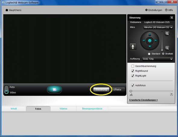 Logitech webcam avi corrupt