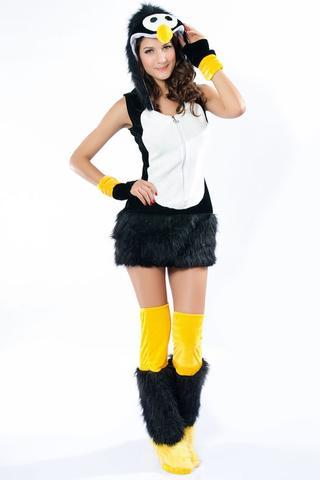 pinguin kost m ideen fasching karneval. Black Bedroom Furniture Sets. Home Design Ideas