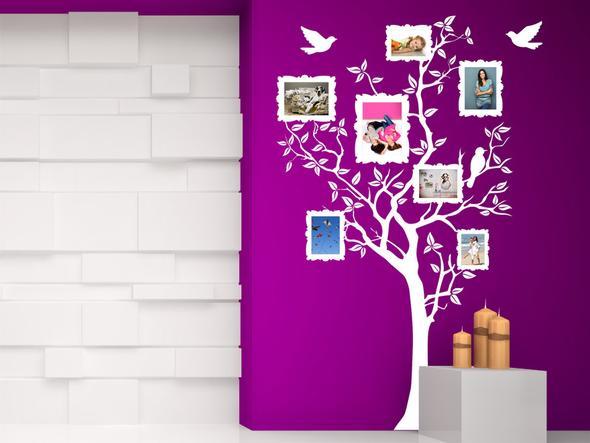 idee f r befestigen von fotos an einer wand zimmer deko freunde. Black Bedroom Furniture Sets. Home Design Ideas