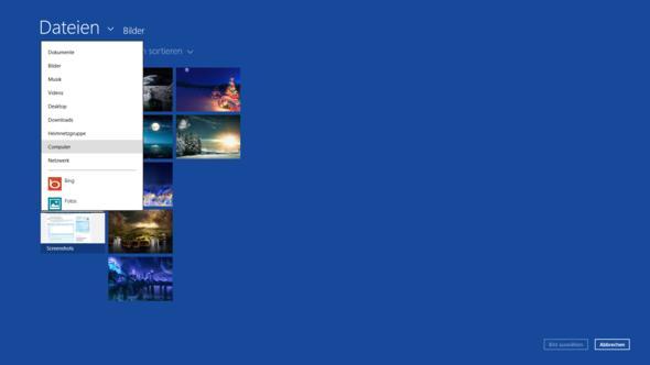 Windows 8 wallpaper für start und sperrbildschirm
