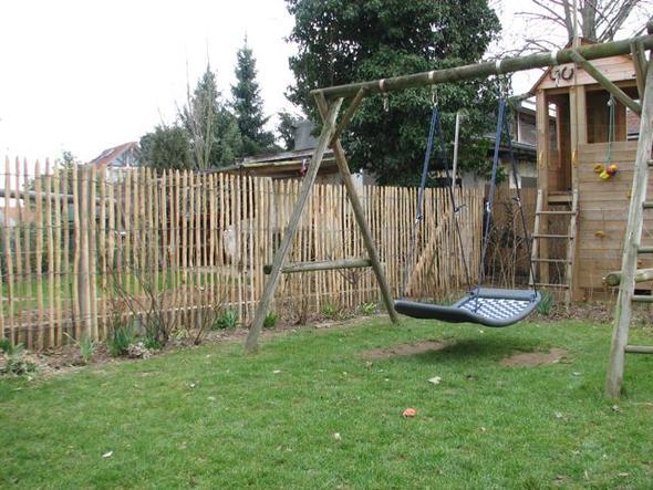 Gartenzaun Günstige Alternativen zu Metall  Holz (Garten, Wohnung