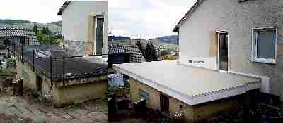 bergstollen im haus und terrasse undicht feuchtigkeit. Black Bedroom Furniture Sets. Home Design Ideas