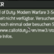 mw3 fehler wen ich online spielen will