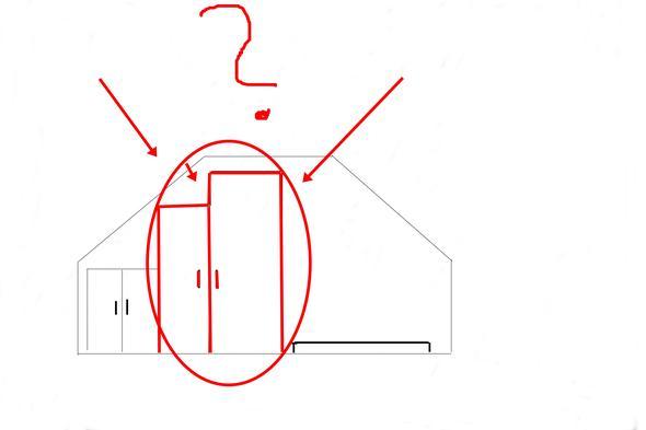 kleiderschrank problem dachschr gen hilfe wohnen. Black Bedroom Furniture Sets. Home Design Ideas