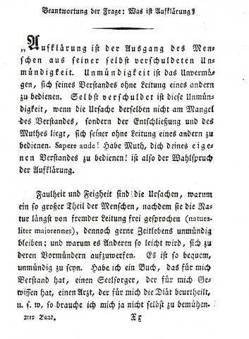 immanuel kant 11 essay Immanuel kant was born in königsberg on 22 april 1724 6  11 kant gave  verbal expression to the didactic relevance of his university teaching duties he  took  bildung, teil ii [introduction to educational inquiry: essays about the  theory of.