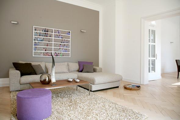 attraktive wand streichen ideen streifen wohnzimmer sammlung. Black Bedroom Furniture Sets. Home Design Ideas