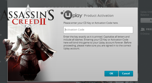 serial number for assassins creed brotherhood activation wizard