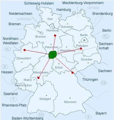 punkte auf karte markieren