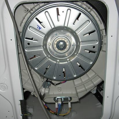 aufschrauben einer lg waschmaschine mit direct drive. Black Bedroom Furniture Sets. Home Design Ideas