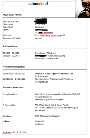 Ausbildungsplatz Wieso Hagelt Es Nur Absagen? (schule. Resume Writing Services Grand Rapids Michigan. Cover Letter For Resume In India. Sample Cover Letter For Tour Guide Position. Curriculum Vitae Pdf Da Compilare. Resume Example Easy. Letter For Resignation From Job Samples. Form Letter Resignation. Curriculum Vitae Sample In Word