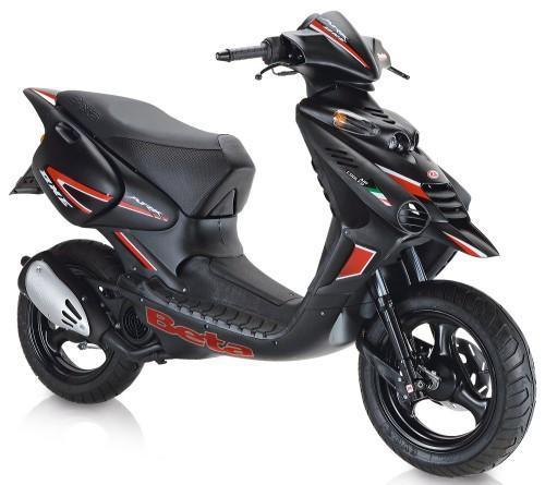 beta ark 50 luftgek hlt oder wassergek hlt roller moped. Black Bedroom Furniture Sets. Home Design Ideas