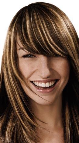 Haare braun farben trotz blonder strahnchen