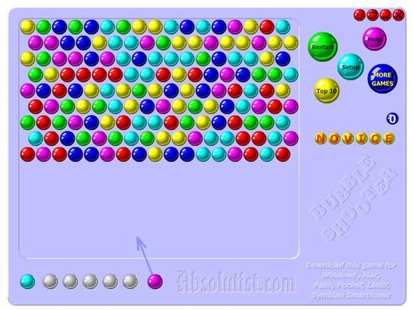bubble shooter highscore