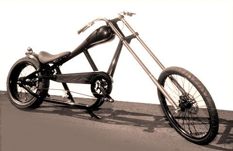 Fahrrad schwarz matt lackieren