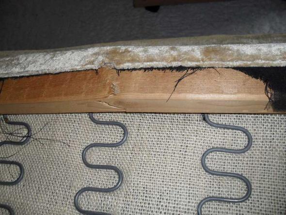 couch latte gebrochen wie am besten reparieren handwerk er m bel holz. Black Bedroom Furniture Sets. Home Design Ideas