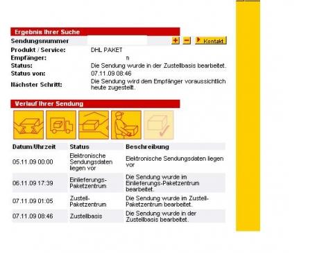 dhl wann kommt paket tracking support. Black Bedroom Furniture Sets. Home Design Ideas