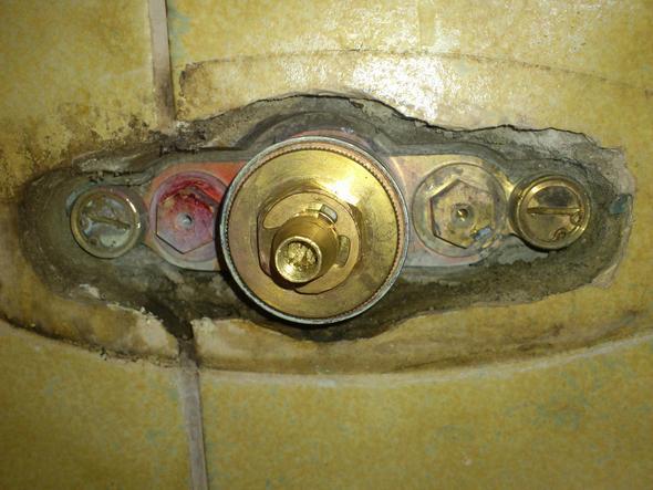 Dusche Armaturen Einbauen : Dusche immer hei?, Thermostat regelt nicht (Armatur, Sanit?r, Wasser