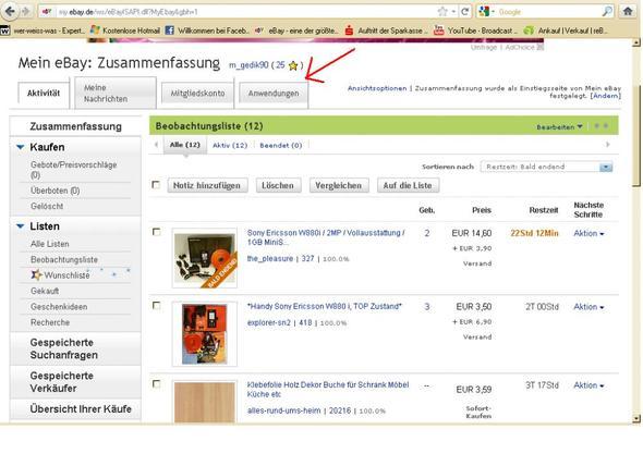 ebay ansicht ist komisch bitte helfen. Black Bedroom Furniture Sets. Home Design Ideas