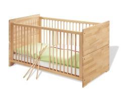 ein hochbett aus dem baby gitterbett bauen ideen zwillinge schreiner kinderzimmer holz. Black Bedroom Furniture Sets. Home Design Ideas
