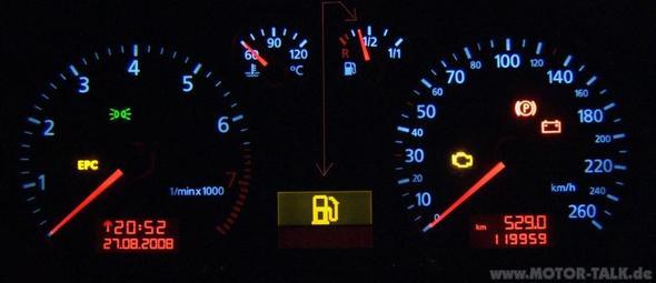 Epc Warnleuchte Leuchtet Auf Audi A3 8l Was Tun Leuchten