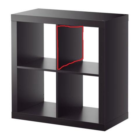 expedit regal umbauen ohne stabilit tsverlust ikea einrichtung. Black Bedroom Furniture Sets. Home Design Ideas