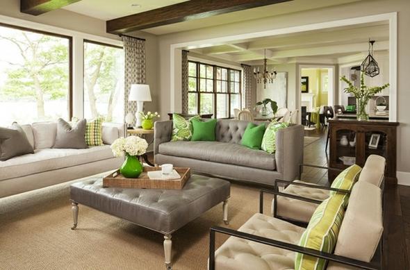 wohnzimmer grau beige:Farbenproblem: Welche Kombination bei diesen Dachschrägen? (Farbe
