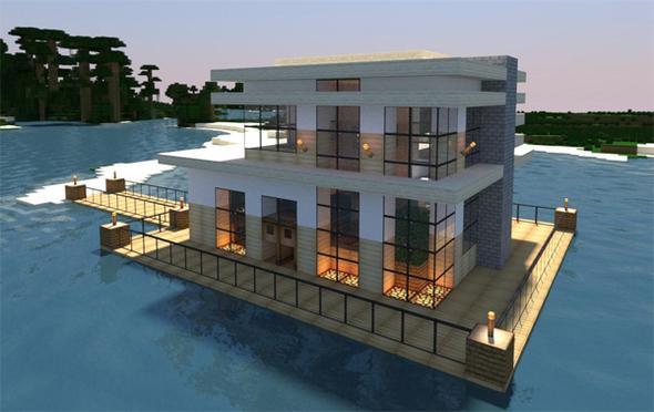 Minecraft Modern House Bauen Minecraft Modernes Haus Bauen - Minecraft hauser modern zum nachbauen