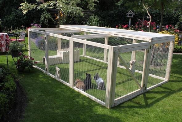 freilaufgehege zu dauerhaftem stall umbauen umfunktionieren tiere haustiere kaninchen. Black Bedroom Furniture Sets. Home Design Ideas