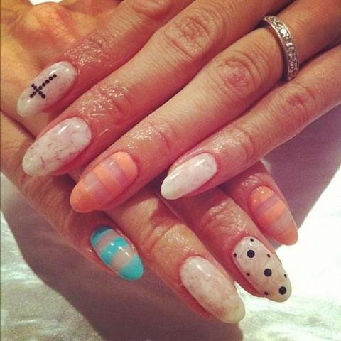 Pin Gel Fuer Fingernaegel Muster Und Motive Picture on Pinterest